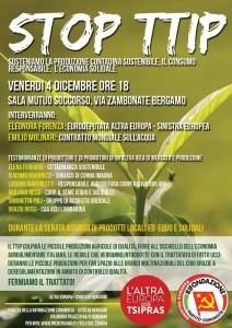 Evento TTIP Bergamo