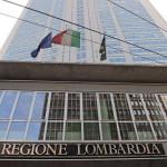 Milano, consiglio regionale Lombardia. Nella foto particolare esterno Palazzo della Regione